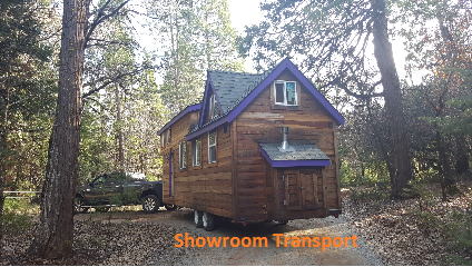Tiny Home Transport Company - Showroom Transport